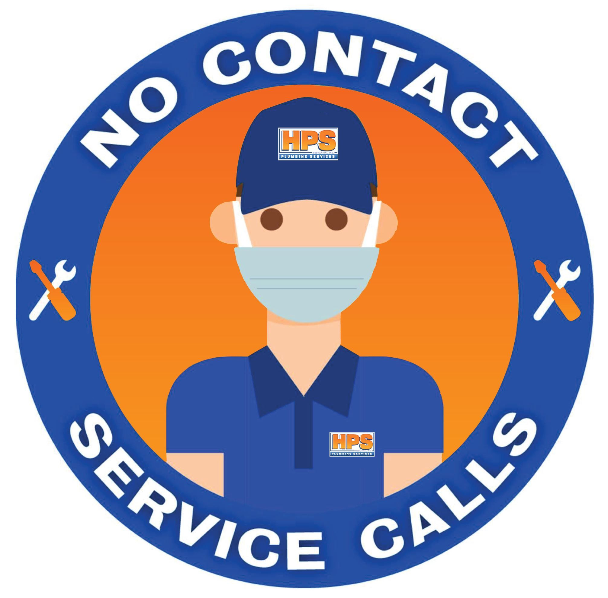 No-contact service calls available
